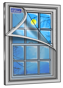 Draftout EZ Window Cover