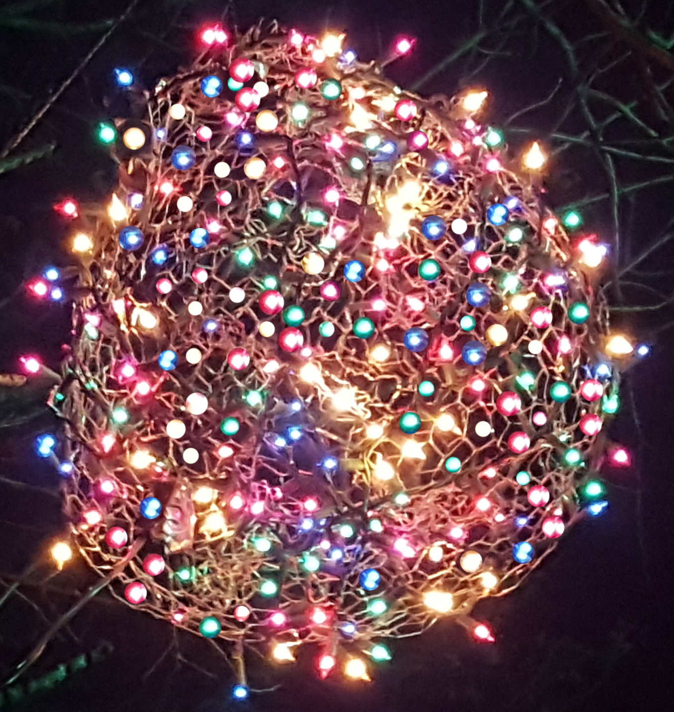 now until monday december 21st blackoutezcom will deliver and install christmas light balls in the greensboro area each christmas light ball is hand