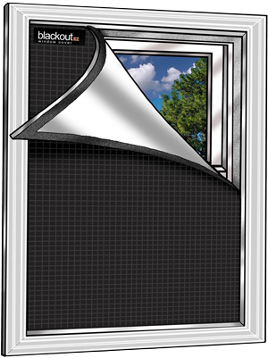 small 36 x 48 blackout window treatments energy efficient window covers. Black Bedroom Furniture Sets. Home Design Ideas