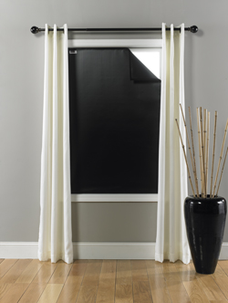 LARGE (45 x 66 inches) - Black/Black